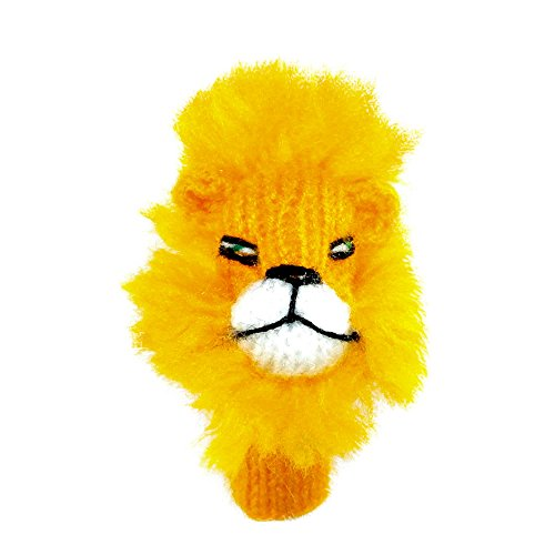 Willy s manufaktur burattino leone teatrino giocattolo per giocare e imparare handgestrickt in morbida lana per neonati e bambini