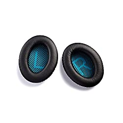 Ear Pads Replacement For Bose Quietcomfort Qc25, Aurtec Ear Cushion With Memory Form & Protein Leather