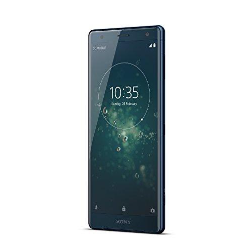 "Sony XperiaXZ2 -Smartphone de 5,7"" FHD + HDR 18:9 (Snapdragon845, OctaCore 2.8 GHz, RAM de 4 GB, memoria interna de 64 GB, cámara de 19 MP MotionEyec on grabación 4K HDR, Android O) [Versión española]"