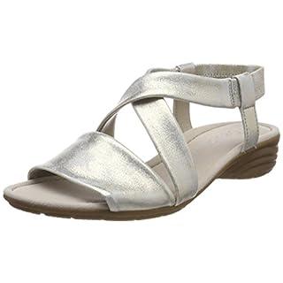 Gabor Shoes Damen Casual Riemchensandalen, Beige (Nude), 37 EU