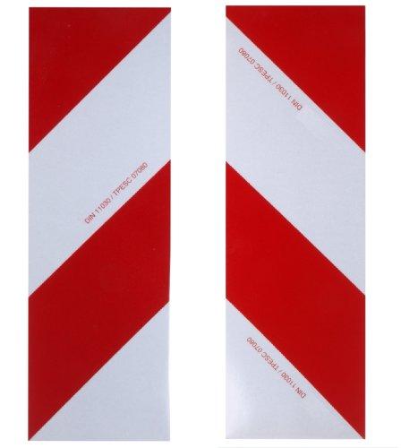 Preisvergleich Produktbild WAMO 2x Warnfolie 423 x 141 mm DIN11030 links und rechts