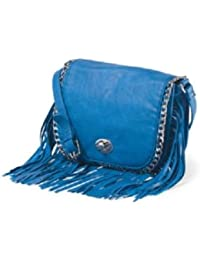 Madden Girl Messenger Bag (Cobalt) (MGHOMER)
