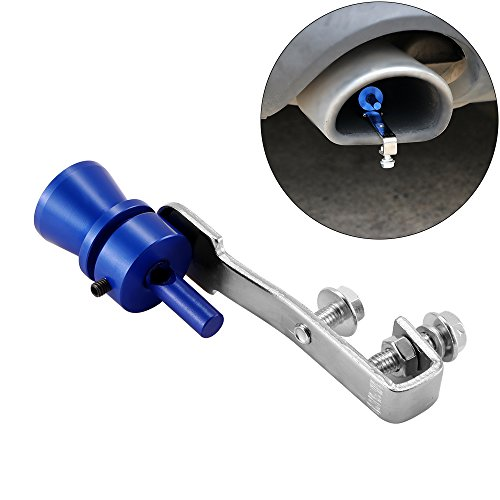 Preisvergleich Produktbild ONEVER Turbo Sound Whistle,  Universal-Aluminium-Auspuffrohr Rohr Auto Blow Off Valve (2PCS)