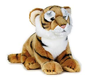 National Geographic- Tiger Peluche, Color marrón (9770745)