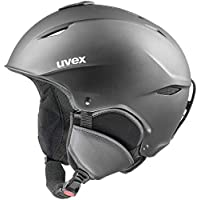 Uvex Primo Casco de esquí, Invierno, Unisex Adulto, Color Negro Mate, tamaño 59-62 cm