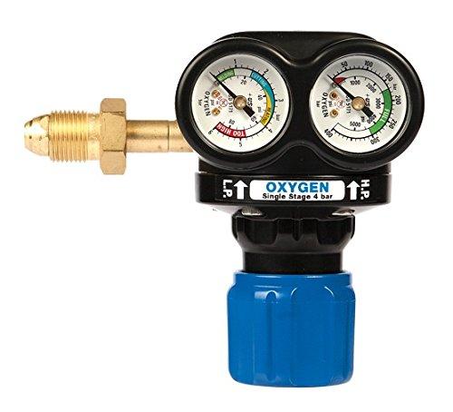 Preisvergleich Produktbild AES w.1062-ve040-se Victor Edge Oxygen Regulator, Edelstahl, 4bar, Seite Eintrag