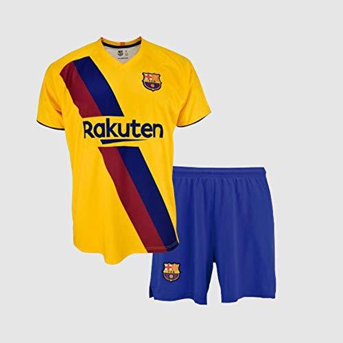 Conjunto Camiseta pantalón 2ª equipación FC. Barcelona