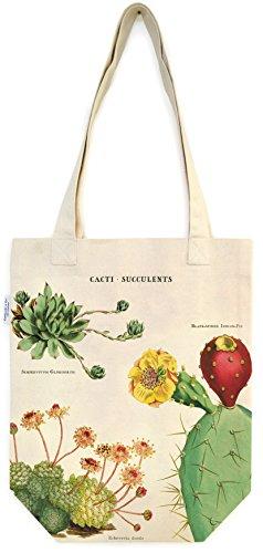 Cavallini Papers & Co Inc Motiv Kakteen, Sukkulente Tasche, Mehrfarbig