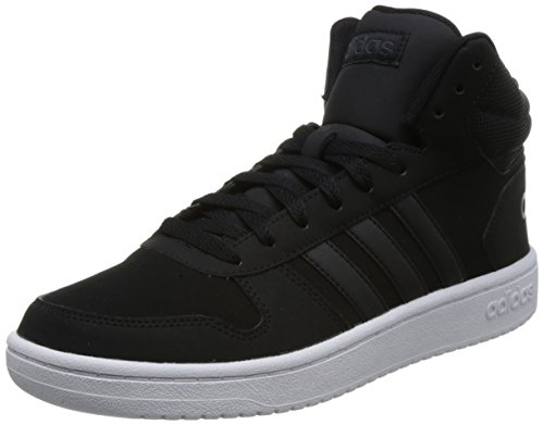 newest collection 52927 37dab adidas Herren Hoops 2.0 Mid Fitnessschuhe Schwarz Negbas Carbon 000, 43 1 3