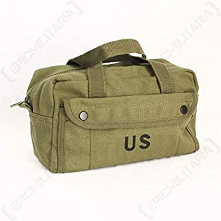 Small Tool Bag American Military US Vintage WWII (Olive)