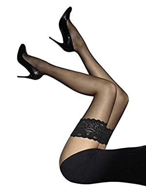 Wolford Hosiery Satin Touch 20 Stay Up