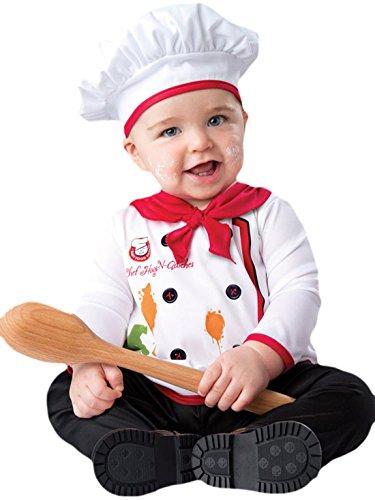 Hunde Kostüm Tigger Für (erdbeerloft - Unisex - Baby Karneval Kostüm Baby Chefkoch , Mehrfarbig, Größe 80-86, 12-18)