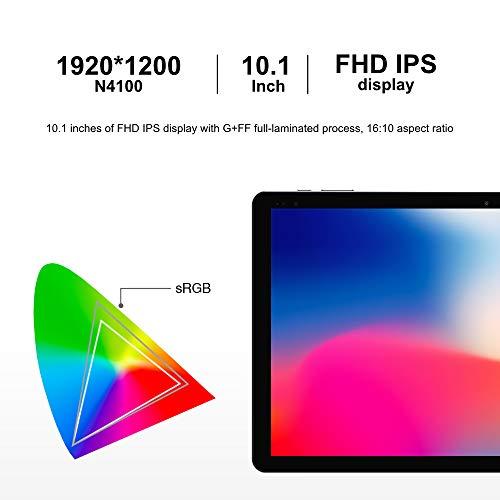 CHUWI Hi10 X Tablet PC 10.1 Pulgadas Windows 10 Sistema operativo (Intel Gemini- Lake N4100) Quad- Core hasta 2.4GHz 1200 * 1920IPS 6GB RAM + 128GB ROM,  WiFi (con Teclado y lápiz)