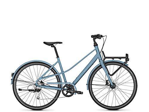Kalkhoff Cityrad Scent Carry 9G Damen 28' Freilauf heritageblue Matt, Rahmenhöhen:50, Farben:heritageblue Matt