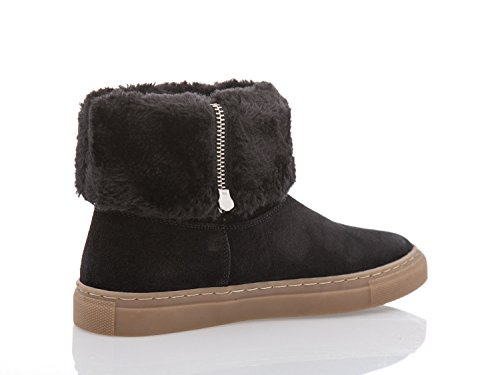 ARMANI JEANS - Femme bottes chaussures 925005 6a441 Noir