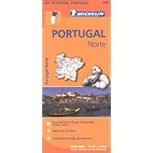 Carte Portugal Nord Michelin