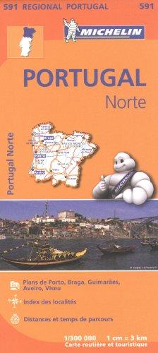 Carte Portugal Nord Michelin par Collectif MICHELIN