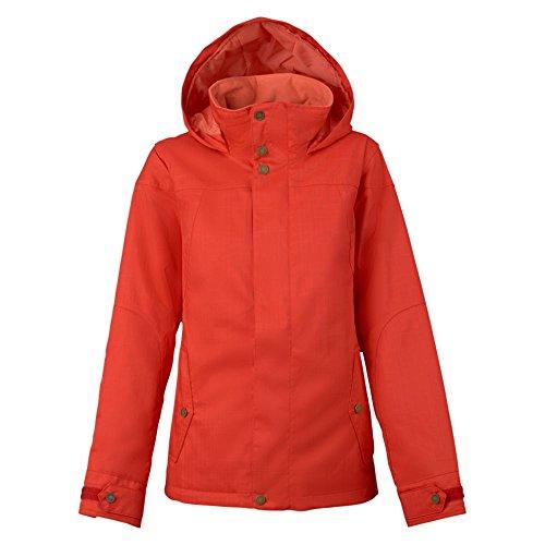 Burton da Donna Jet Set Jacket Giacca da Snowboard, Donna, Snowboardjacke Jet Set Jacket, Corallo, S
