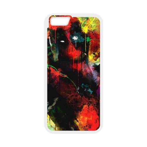 Deadpool coque iPhone 6 4.7 Inch Housse Blanc téléphone portable couverture de cas coque EBDXJKNBO12173