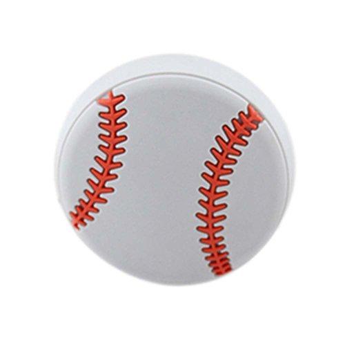 Preisvergleich Produktbild 4PCS schöne Kinder Türgriffe Schublade Baseball Muster Griffe