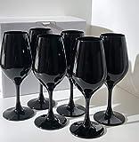 Verre FAVORIT NOIR : le lot de 6 verres