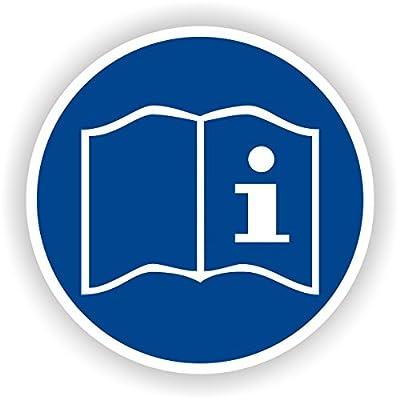 Gebrauchsanweisung beachten / Gebotszeichen / GE-17 / Sicherheitszeichen / Piktogramme / DIN EN ISO 7010