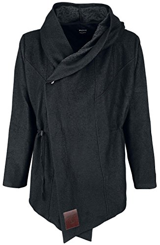Assassin's Creed Wrap Coat Manteau noir Noir