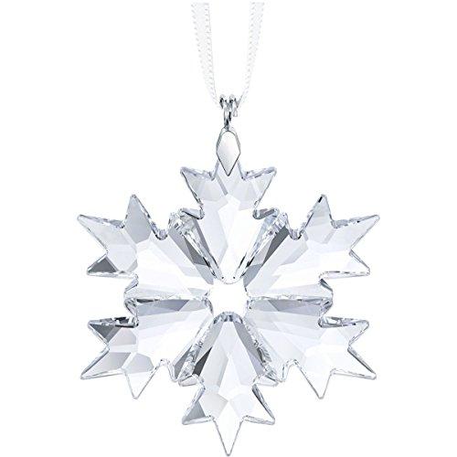 Swarovski figurine piccolo fiocco di neve ornamento cristallo, trasparente, 5x 3.9x 0.5cm,