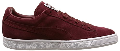 Puma Suede Classic+ , Baskets Mode Mixte Adulte, Rouge Rouge (Cabernet/White/Team Gold)