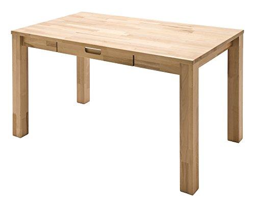 Robas Lund, Tisch, Schreibtisch, Computertisch, Cento II, Kernbuche/Massivholz, 79 x 18 x 18 cm, 40302KB1