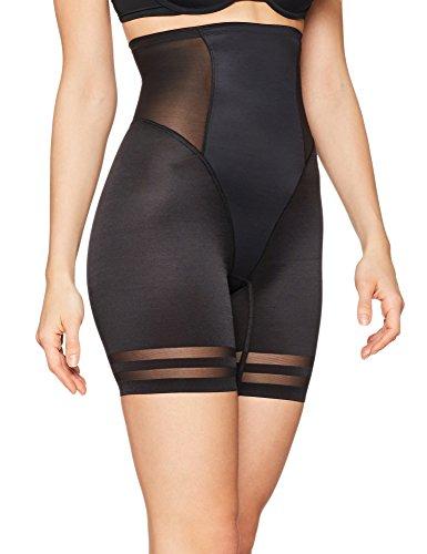 Iris & Lilly Faja Moldeadora de Pantalón Mujer, Negro (Black), Medium