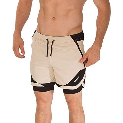 Kurze Hosen Bermuda Cargo Shorts Herren Arbeitshose Große Taschen mit elastischen Shorts Jungen-Badebekleidung für Schwimmbecken Männer Übergrößen Übergrößen-Gymnastikshorts