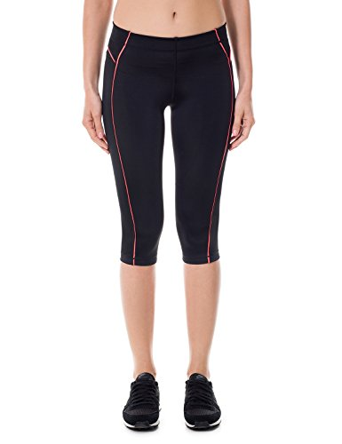 SYROKAN Damen Leggings Sport Strumpfhose – Capri Pants Laufhose - 2