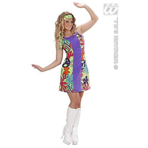 Gogo Kostüm Jahre 70er Girl - 70er Jahre Hippie Damen Kostüm Hippiegirls Fasching Gr S 34/36