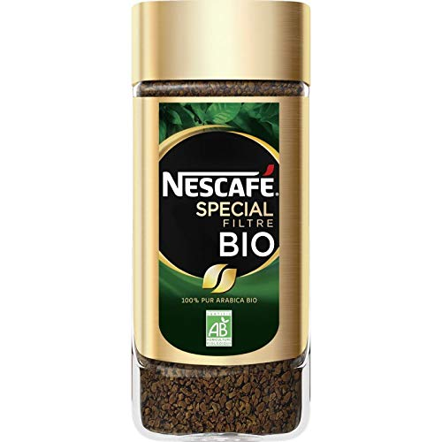 Nescafé - Spezielle Bio-Filter, Cafe Lösliche, von 95G - Packung mit 4
