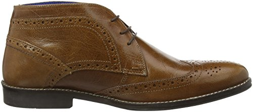 Red Tape Milton, Brogues Homme Brown (tan Leather)