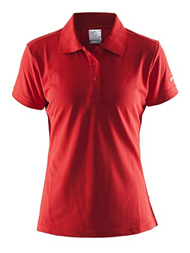 Craft Damen Polo Pique Classic W Polohemd red