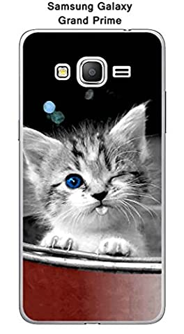 Coque Samsung Galaxy Grand Prime - SM-G531F design Chaton coquin