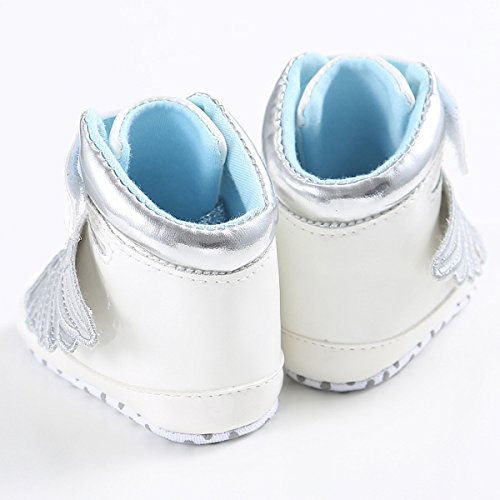puseky , Baby Mädchen Lauflernschuhe Weiß