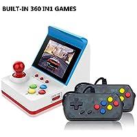 gaeruite Consola de Juegos Mini-Arcade RS-12 con Juego Incorporado 360 Arcade de