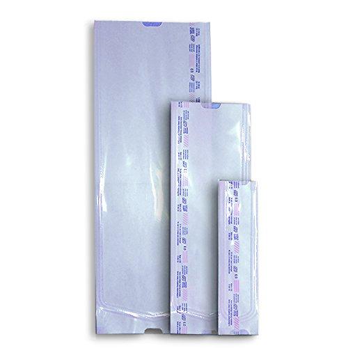 Sterile Wasserstoffperoxid (Steri-Beutel 75 x 270 mm ohne Falte mit 2 Indikatoren 100 Stück)