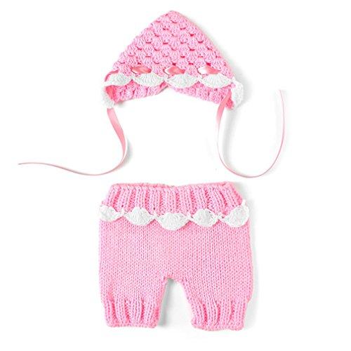 Kinder Baby Strick Mütze Fotoshooting Neugeborene Frosch Muster Design Hut Kostüm Hütengen-Baby-Fotografie Prop Crochet Strickhandgemachte Hut Cape Kostüm