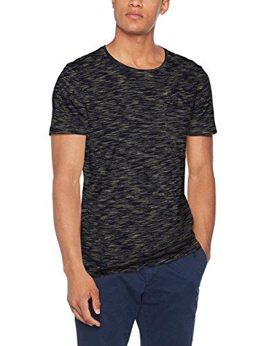 Lindbergh Herren T-Shirt Tee with Chest Pocket S/S Blau (Navy)