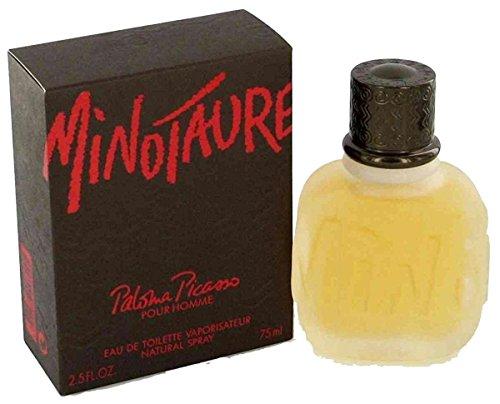 Paloma Picasso Minotaure pour homme Eau de Toilette spray da uomo, 75ml, con sacchetto regalo