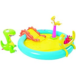 Jilong jl097225npf piscina Play Juego multigioco Dinosaurios, multicolor