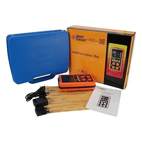Detector Multigas Inicio Alarma De Gas; CO, H2S, LEL y O2, monitor de probador de fugas Monitor de gas...