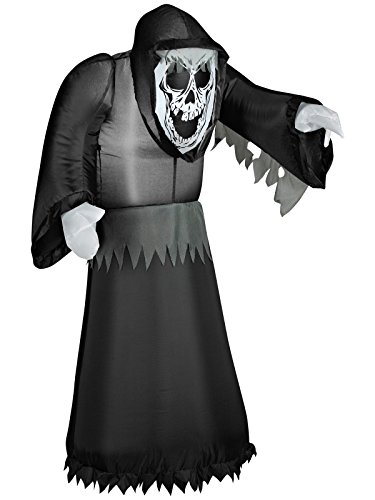Airblown Inflatable 3 1/2 Feet Grim Reaper Halloween -