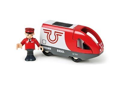 - BRIO 33 504 vagones (Batterielok) de Brio