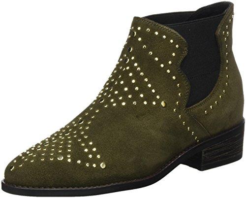 Steve Madden Damen Jipp Ankleboot Chelsea Boots, Grün (Olive), 37 EU -