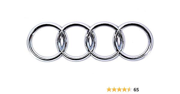 Audi Zeichen Chrom Original A3 A4 A6 Tuning Zubehör Audiringe Auto